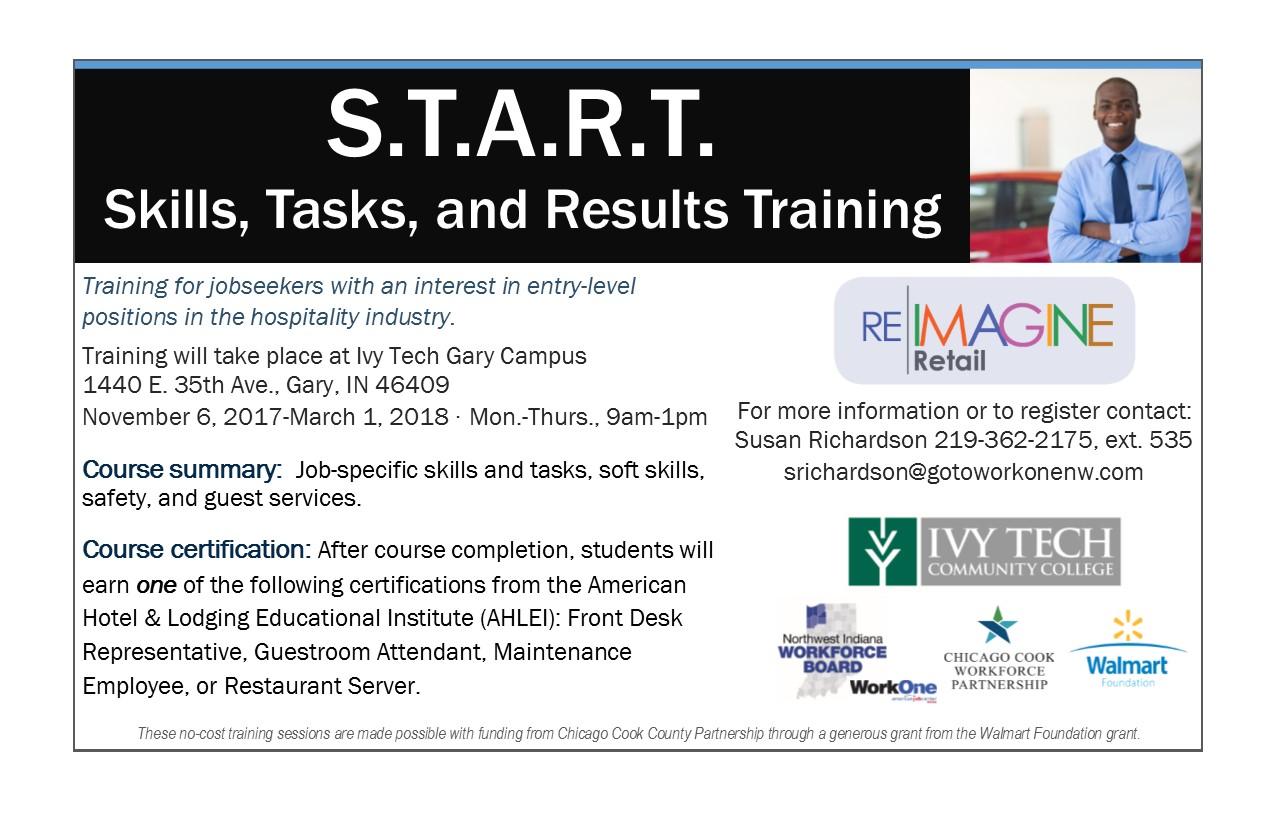 Workone Start Skills Tasks And Results Training